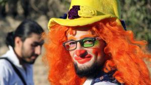 Anas al-Basha, der letzte Clown von Aleppo ist tot; Foto: AP