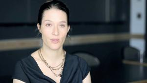 Rebekah Maggor, Herausgeberin der ″Tahrir Tales: Plays from the Egyptian Revolution″; Quelle: vimeo
