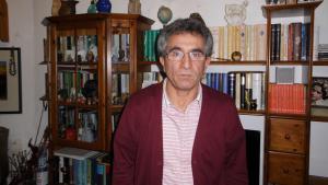 Der iranische Schriftsteller Abbas Maroufi; Foto: Volker Kaminski