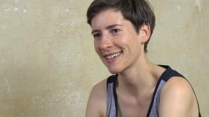 Die Künstlerin Frauke Frech; Quelle: vimeo
