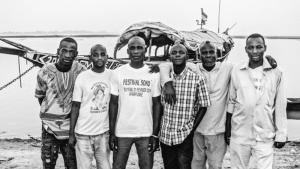 Die malische Band Alkibar Jr.