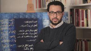 Der syrische Schriftsteller und Dichter Ra'id Wahsh; Foto: Salama Abdo