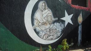 Graffiti in Libyen