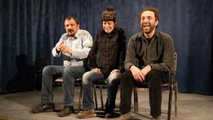 Ensemble-Mitglieder des Stadttheaters Diyarbakır, Foto: Sonja Galler
