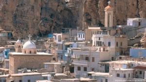 Die syrische Stadt Maalula; Foto: picture-alliance