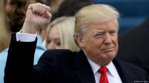 Amtseinführung Donald Trumps am 20. Januar 2017 in Washington; Foto: Reuters