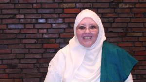 Die islamische Theologin Shaykha Halima Krausen; Foto: Carolin Kubo