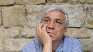 Der syrische Oppositionelle und Schriftsteller Yassin al-Haj Saleh; Foto: AP