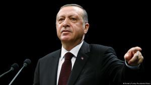 Der türkische Präsident Recep Tayyip Erdoğan; Foto: Reuters/Turkey Presidential Palace