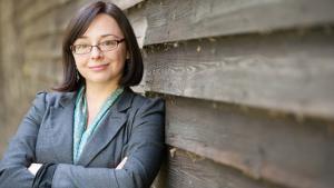 Die Wissenschaftlerin Zuzanna Olszewska; Foto: Artandconflictglob.com