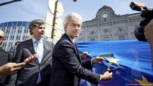 Der niederländische Rechtspopulist Geert Wilders; Foto: picture-alliance/ANP/M.Beekman