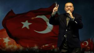 Der türkische Präsident Recep Tayyip Erdoğan während einer Rede am 5. März 2017; Foto: Reuters