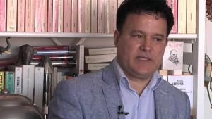 Der marokkanische Schriftsteller Fouad Laroui; Quelle: youtube