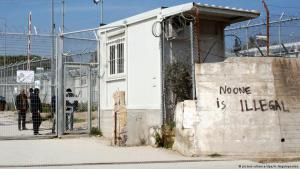 Auffanglager Moria auf Lesbos; Foto: picture-alliance/dpa