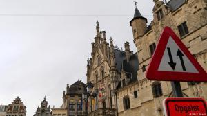 Die flandrische Stadt Mechelen in Belgien; Foto: DW