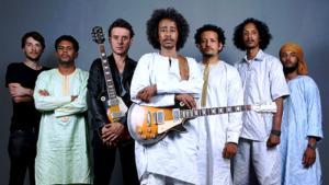 Die Tuareg-Band Tamikrest; Quelle: Sebastien Rieussec