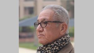 Der ägyptische Schriftsteller Kamal Ruhayyim; Quelle: Twitter