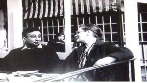 Waguih Ghali (l.) mit seiner damaligen Freundin Diana Athill in den 1960er Jahren; Quelle: Cornell University Library