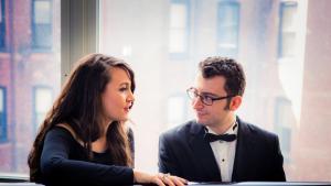 Der Singer-Songwriter Nazan Nihal und der Pianist und Komponist Utar Artun; Foto: privat