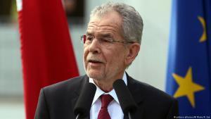Der österreichische Bundespräsident Alexander Van der Bellen; Foto: picture-alliance/AP
