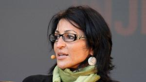 Susan Abulhawa während des Oslo Book Festivals; Foto: wikipedia