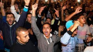 Proteste im marokkanischen Al-Hoceima für politische und ökonomische Reformen; Foto: Getty Images