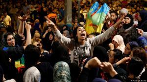 Proteste gegen Korruption in der marokkanischen Stadt Al-Hoceima am 3. Juni 2017; Foto: Reuters/Youssef Boudlal