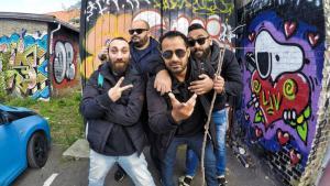 """""""Revolution Records"""": El Temraz, Ahmed Rock II, Amr Czar und Rooney Rady; Quelle: Facebook"""