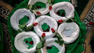 Schiitische Turbane im Iran; Quelle: FARS