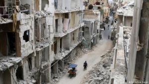 Ruinenstadt Aleppo in Nordsyrien; Foto: Reuters/A. Ismail