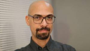 Der ägyptische Filmemacher Mohamed Rashad; Foto: © Goethe-Institut Kairo/Hasan Amin
