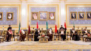 Mitglieder des Golfkooperationsrates in Riad, Saudi-Arabien; Foto: picture-alliance/AP