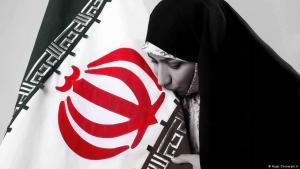 Die Abgeordnete Hajar Chenarani zieht 2017 als eine von 14 Frauen ins iranische Parlament ein; Quelle: Hajar Chenarani.ir