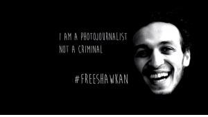 Kampagne #FreeShawkan; Quelle: Twitter