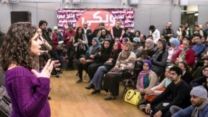"""Wiki Gender""-Auftaktveranstaltung im Goethe-Institut in Kairo; Quelle: Goethe-Institut Kairo/Roger Anis"