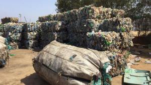 "Gesammelter Recycling-Müll der marokkanischen ""Chiffonniers""; Foto: ARD"
