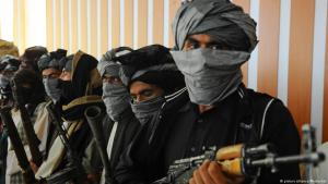 Taliban-Kämpfer in Afghanistan; Foto: picture-alliance