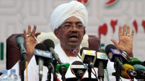 Sudans Präsident Omar al-Bashir während einer Rede in Khartum; Foto: AFP/Getty Images