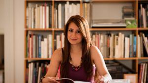 Die syrische Schriftstellerin Widad Nabi; Foto: Heike Steinweg
