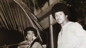 Jerry und Axmed Naaji, Musiker der 1970er Jahre aus Mogadischu; Quelle: Ostinato Records