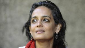 Die indische Schriftstellerin und Aktivistin Arundhati Roy; Foto: AFP/Getty Images