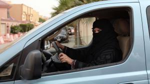 Symbolbild Fahrverbot für Frauen in Saudi-Arabien; Foto: dpa