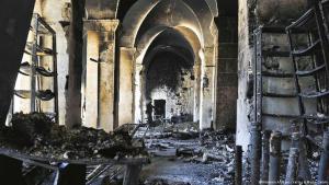 Zerstörter Basar von Aleppo; Foto: Nünnerich-Asmus Verlag & Media GmbH