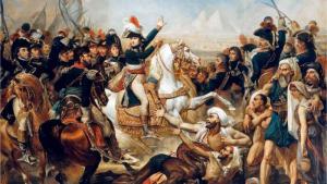 Zeitenwende im Orient: Napoleons Truppen landen in Ägypten und schlagen das Heer der muslimischen Mamlukken im Jahr 1798; Quelle: Fine Art Images/Heritage Images/Getty Images