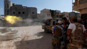 Angriffe auf Stellungen des IS im libyschen Sirte; Foto: Reuters/I. Zitouny