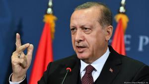 Der türkische Präsident Recep Tayyip Erdoğan; Foto: picture-alliance/Pixsell/S. Ilic