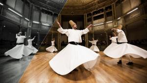 Tanzende Derwische in Istanbul; Foto: Gurcan Ozturk/AFP/Getty Images