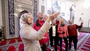 Tag der offenen Moschee in Hürth; Foto: picture-alliance/dpa