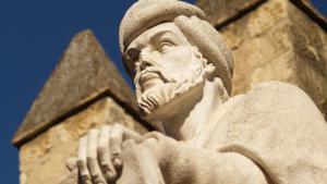 Ein Monument des muslimischen Philosophen Averroës; Foto: Manolo Blanco/Flickr