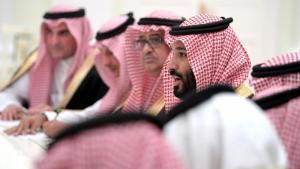 Der saudische Thronfolger Mohammed bin Salman; Foto: dpa/picture-alliance